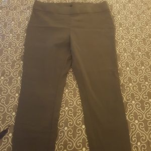 New. Apt. 9 pull on pants. Gray.